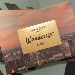 Wanderess Rush eyeshadow palette- New In Box
